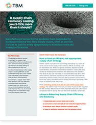 4 Keys to Balancing Supply Chain Efficiency and Resiliency